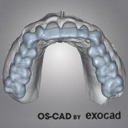 MODULO MASCHERINE - OS-CAD  BY EXOCAD