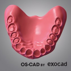 FULL DENTURE - OS-CAD  BY EXOCAD